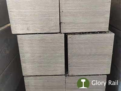 Square steel bar rail