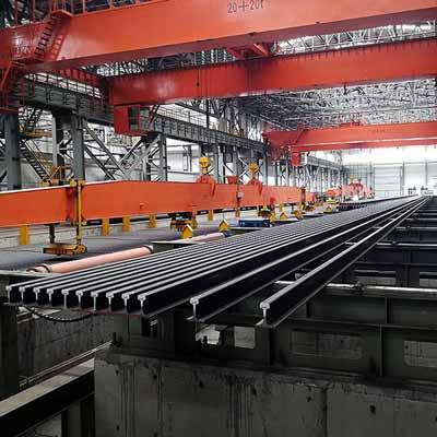 54E5 steel rail
