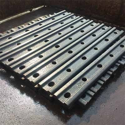 GB Standard Rail Fish Plate Rail Joint Bar