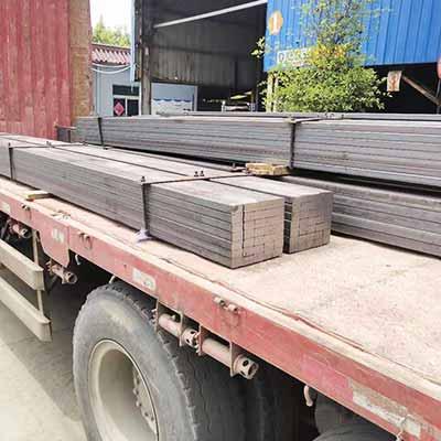 Q235B Flat Steel Bar Crane Rail Price