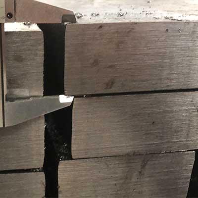 DIN17100 ST52-3 Flat Steel Bar Crane Rail