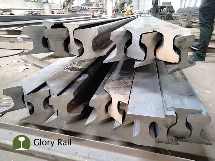 QU70 rail 45 degree cutting