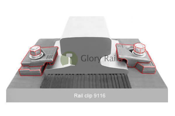 rail clip 9116