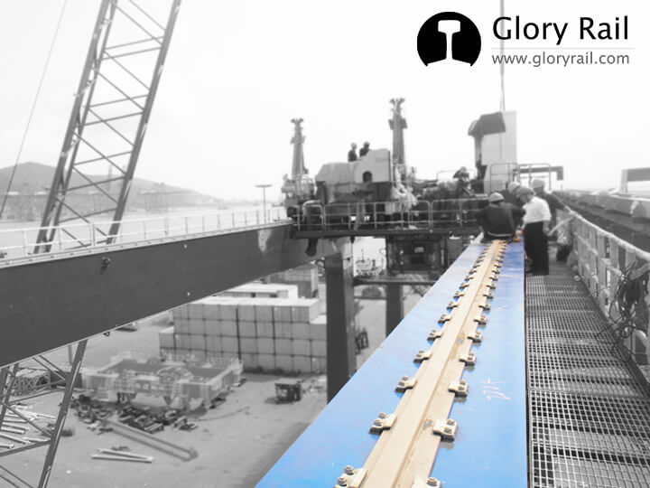 Crane rail fixing clips supplier