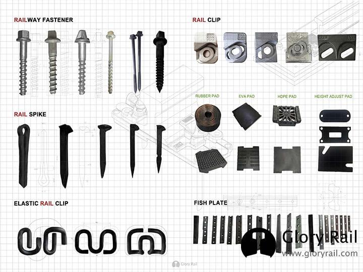 crane rail accessories supplier