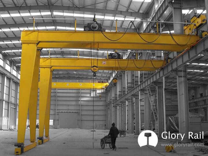 Crane gantry rail supplier