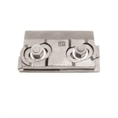 Rail clips for cranes