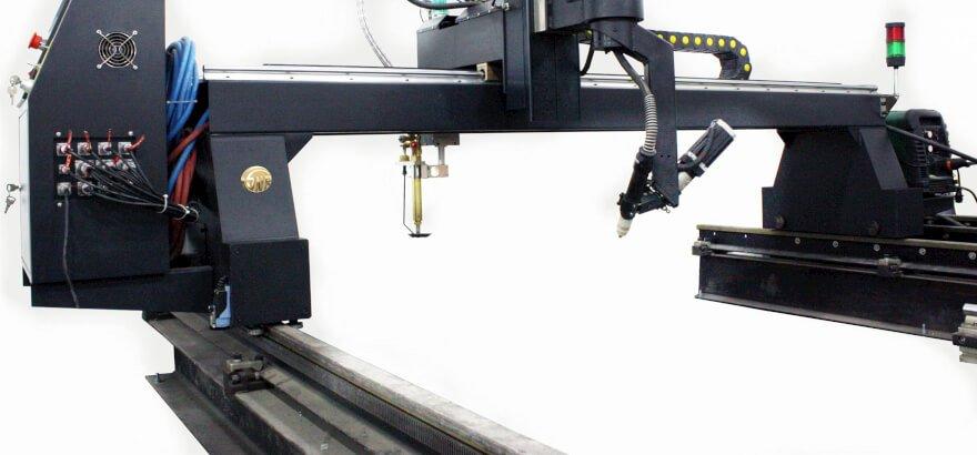 flame cutting machine guide rails